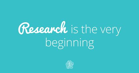 Research is the very beginning