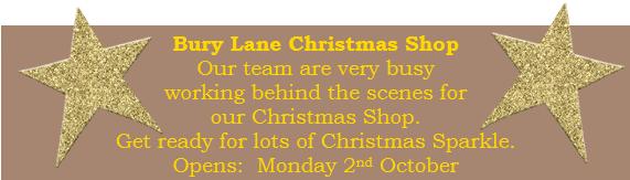 Bury Lane Farm Shop Christmas Shop Opening  October 2017