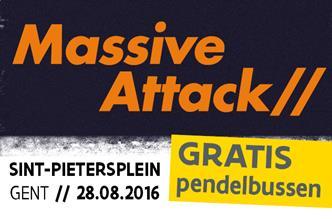 Gratis pendelbussen Massive Attack