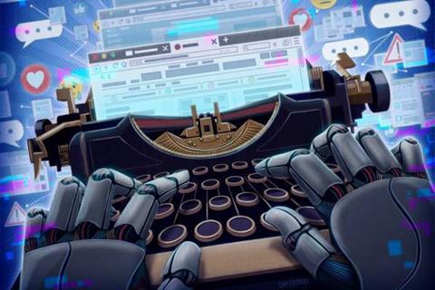 Robotic AI journalists