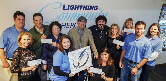 Dr. Randy Feldman - Tampa Bay Lightning Community Hero