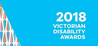 2018 Victorian Disability Awards logo