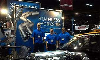 Stainless Works at PRI Trade Show