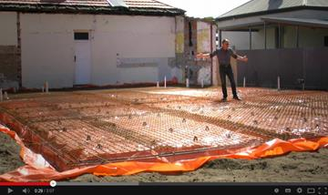 Semaphore Park Home Extensions Underfloor Heating