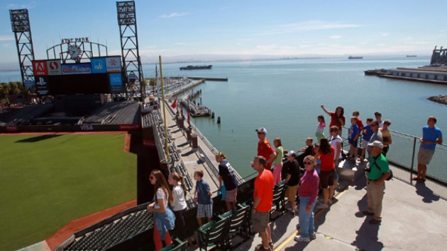 Behind the Scenes at AT&T Park