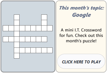 September 2015 Crossword