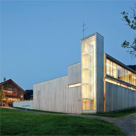 Sulzberg-Thal Fire Station  by Dietrich Untertrifaller