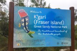 Fraser Island renamed K'gari