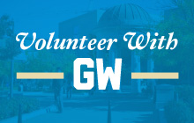 Volunteer with GW