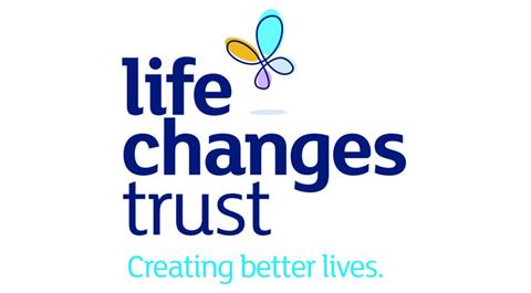 Life Changes Trust Logo with tagline 'creating better lives'
