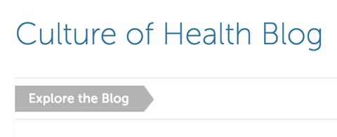 RWJF Culture of Health Blog