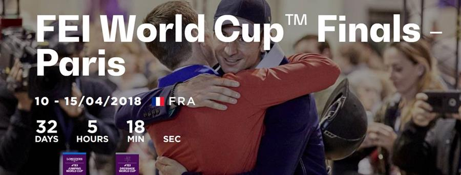 Longines FEI World Cup Jumping Final and the FEI World Cup Dressage Final in Paris