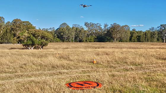 NRAR drone