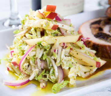 Fuji Apple Slaw
