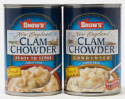Snows Clam Chowder