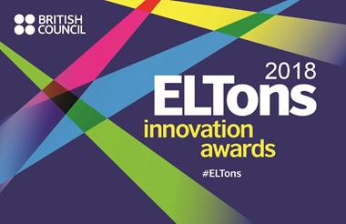 ELTons 2018 innovation awards