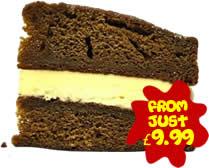 粘性太妃糖海绵蛋糕-只需9.99英镑
