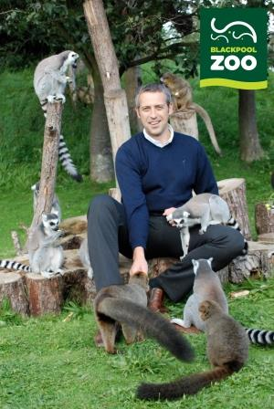 Steve Webster, Director of Blackpool Zoo. © Blackpool Zoo.