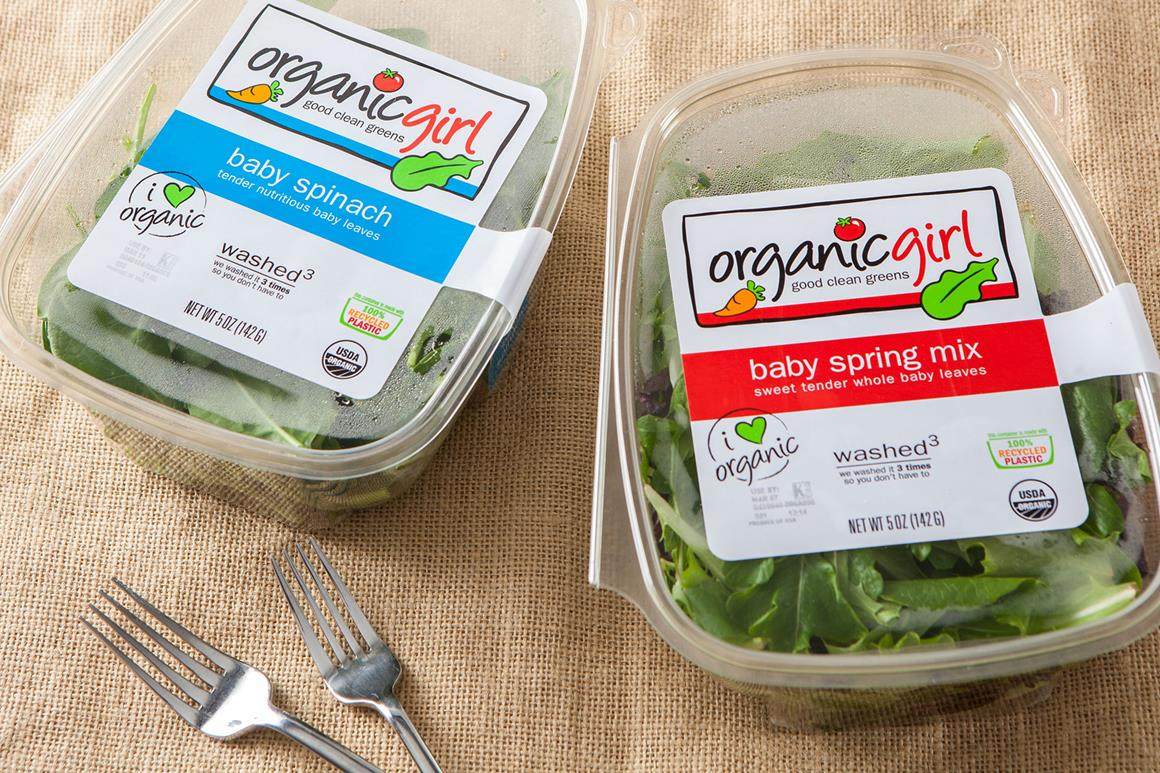 Organic Girl Salads