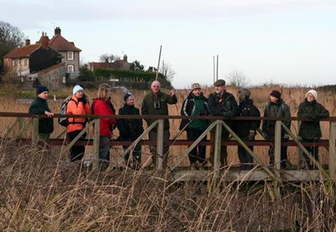 The rambling team from Cley