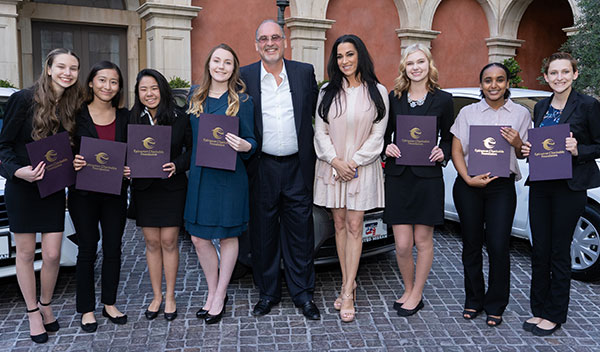 Don & Lorie Forman and the ECF 2018 Scholarship Recipients