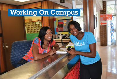 Working On Campus Offers Flexibility