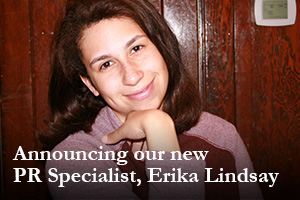 Announcing our new PR Specialist, Erika Lindsay