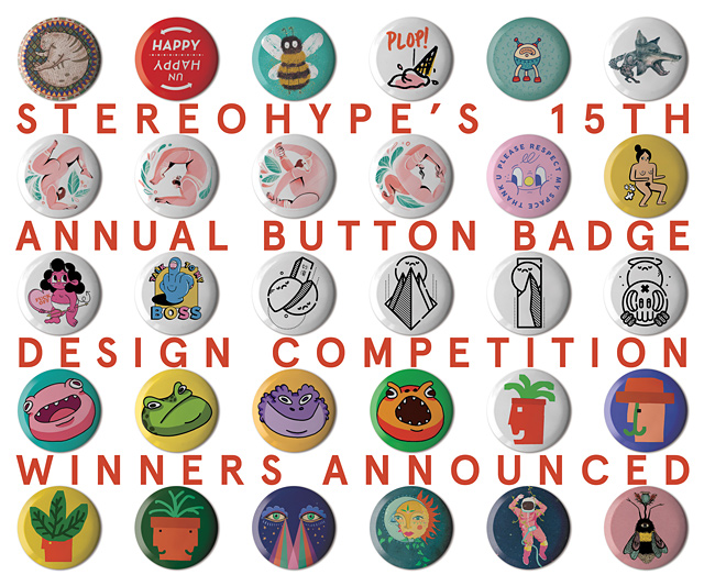 15th annual Button Badge Design Competition (2019)