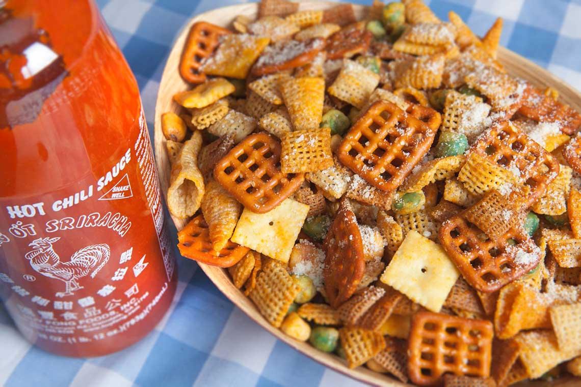 Sriracha Chexmix