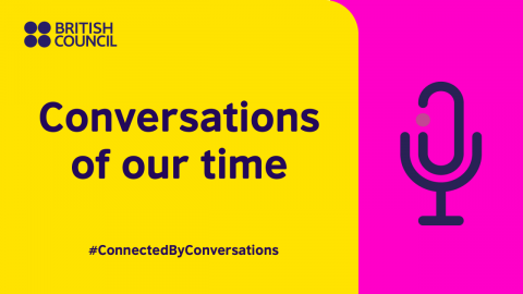 Conversations of our time - live event series banner