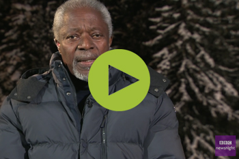 Kofi Annan on refugees