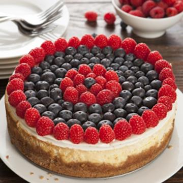 Red, White and Blue Cheesecake Pistil