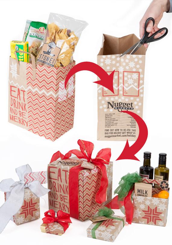 bag gift wrap