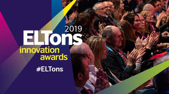 ELTons Innovation Awards Artwork