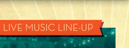Live Music Line-Up