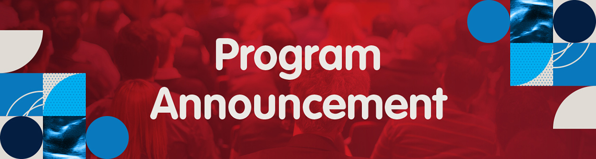 Program Announcement