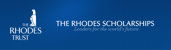 The Rhodes Scholarships: Leaders for the World's Future