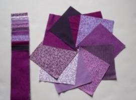 Purple nickle pack & strip roll from Creative Quilting