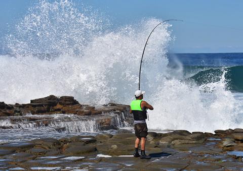 Golfer and Lifejacket Save Fisherman