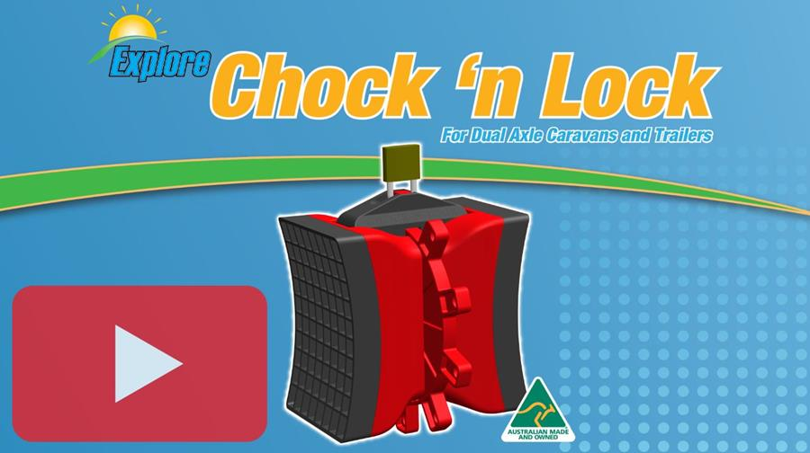 Click here to see the Chock 'n Lock video