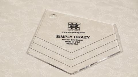 How to use the E-Z Simply Crazy template with Valerie Nesbitt