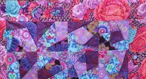Show and Tell Kaffe Fassett Quilt