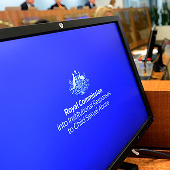 Photo courtesy of Royal Commission into Institutional Responses to Child Sexual Abuse
