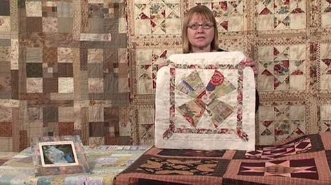 Quilting on the Go with Carolyn Forster