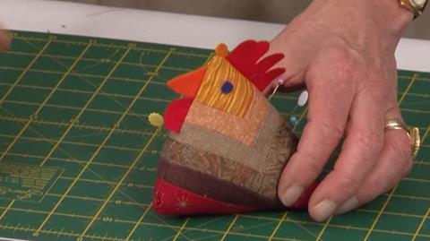 Chicken Pincushion from Jennie Rayment