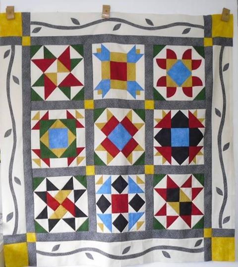 Sampler Quilt by Valerie Nesbitt