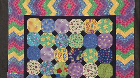 Make a Snowball patchwork block with Valerie Nesbitt