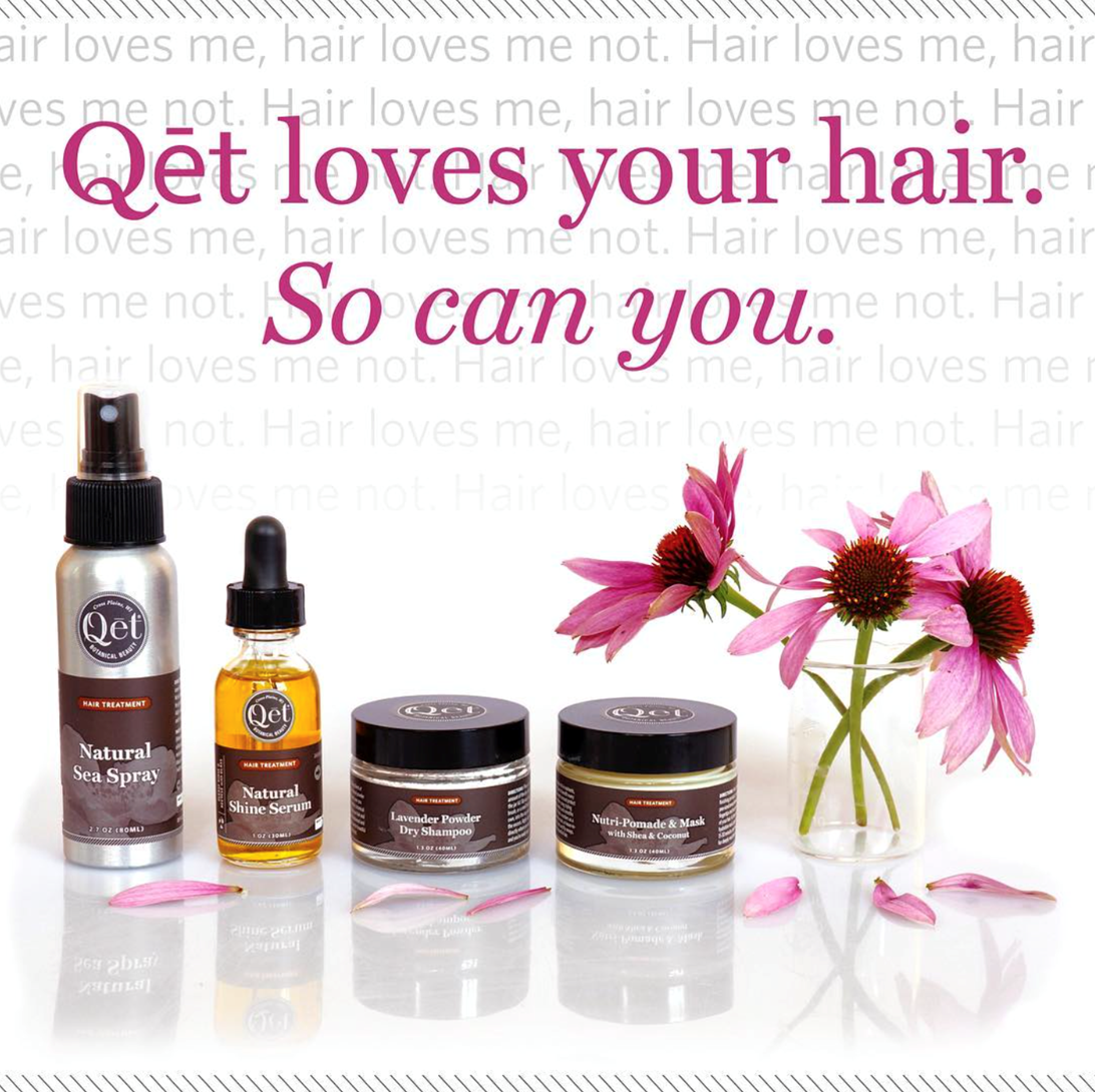 Qēt Botanicals summer ready hair products