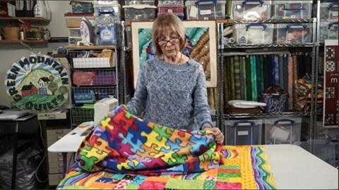 Be Inspired by the Back of your Quilt with Valerie Nesbitt