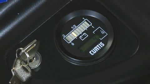 WSRX30 Hour Meter and Battery Indicator